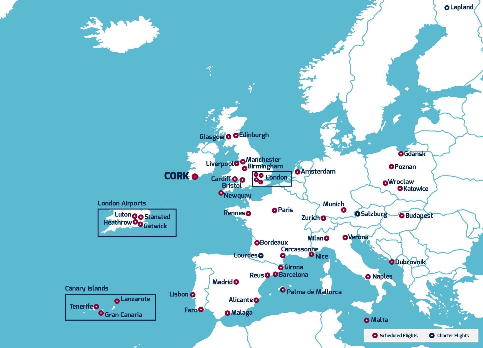 cork route map june 6